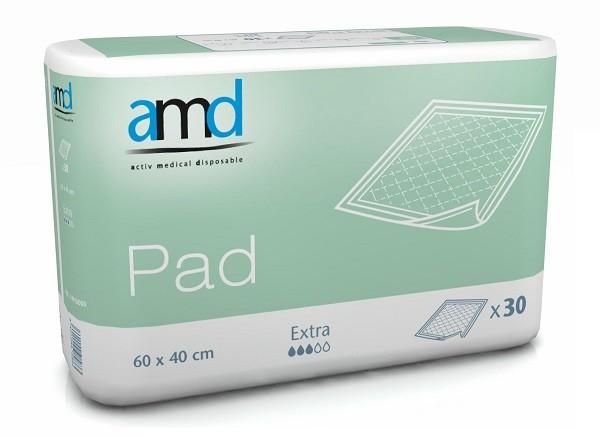 Afbeelding van AMD Bed Onderlegger Extra 60x40 cm 30 stuks