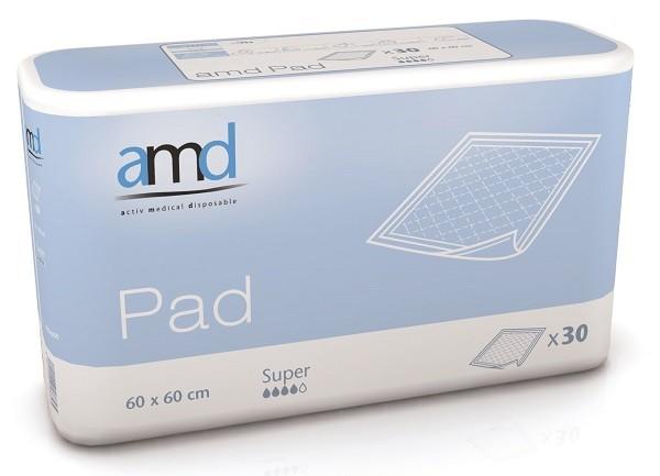 Afbeelding van AMD Bed Onderlegger Super 60x60 cm 30 stuks