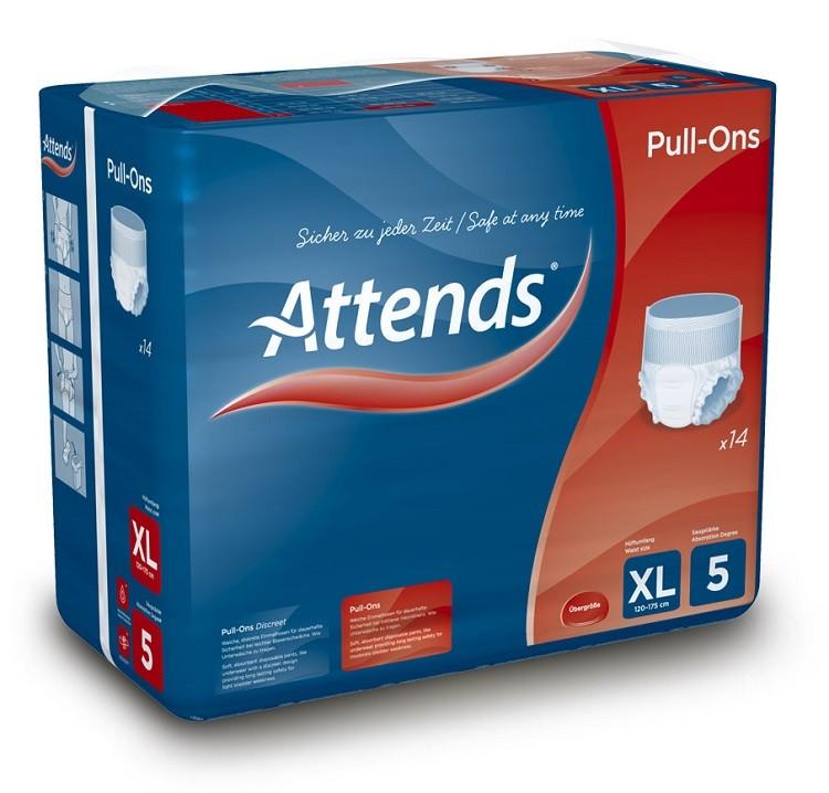 Afbeelding van Attends Pull Ons Plus 5 XL 14 stuks