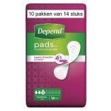 Depend Verband Normaal | 10 pakken van 14 stuks