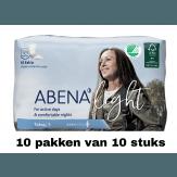 Abena Light Extra | 10 pakken van 10 stuks