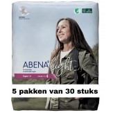 Abena Light Super | 5 pakken van 30 stuks