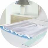 ABSO matrasbeschermer 85  x 90 cm - met handvatten