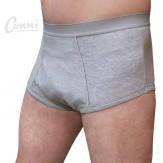 Wasbaar incontinentie ondergoed- grijs
