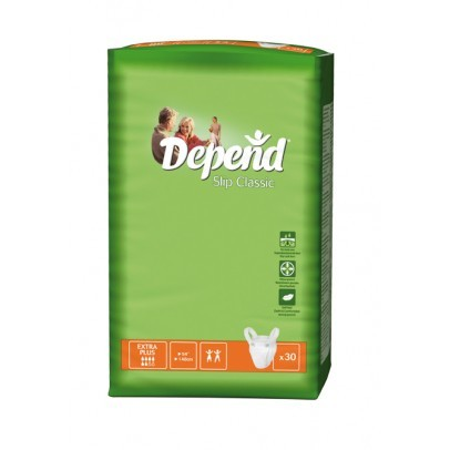 Depend Slip Extra Plus