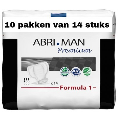 Abena Abri-Man Premium Formula 1 | 10 pakken van 14 stuks