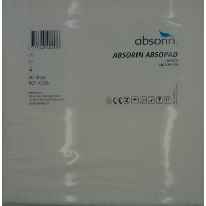 Absorin Absopad Twinco onderlegger