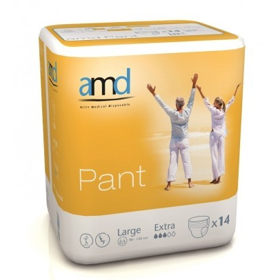AMD Pants Extra - Large - 14 stuks