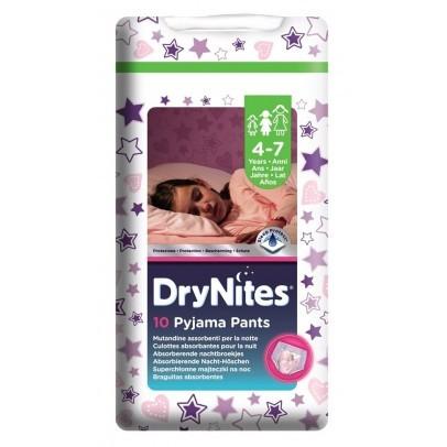 DryNites Girls Broekjes 4-7 jaar | 17-30 kg.