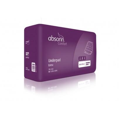 Absorin Onderlegger Protect Fluf 60 x 90 centimeter - Purple 2000ml