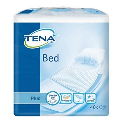 Tena Bed Onderlegger Plus - 60 x 60 cm - 40 stuks