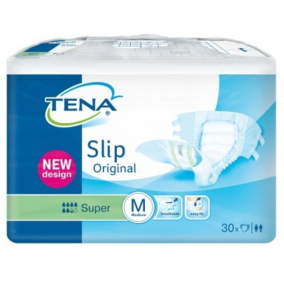 Tena Slip Original Super Medium (plastic buitenkant)
