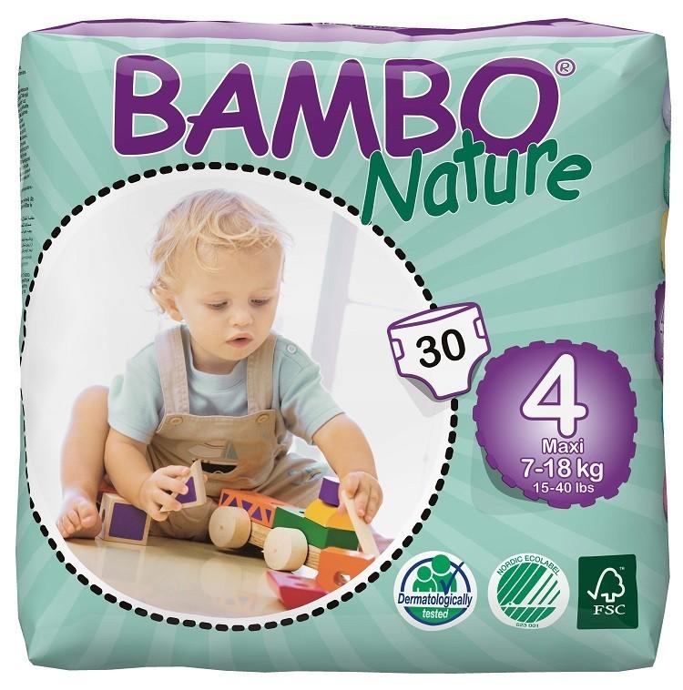 Afbeelding van Bambo Nature Maxi 4 6 pakken