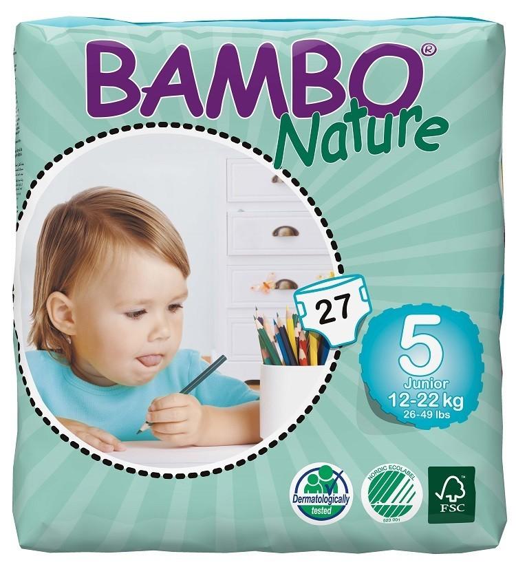 Afbeelding van Bambo Nature Junior 5 6 pakken