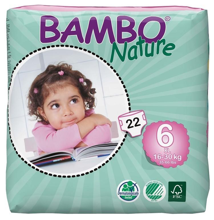 Afbeelding van Bambo Nature XL6 6 pakken