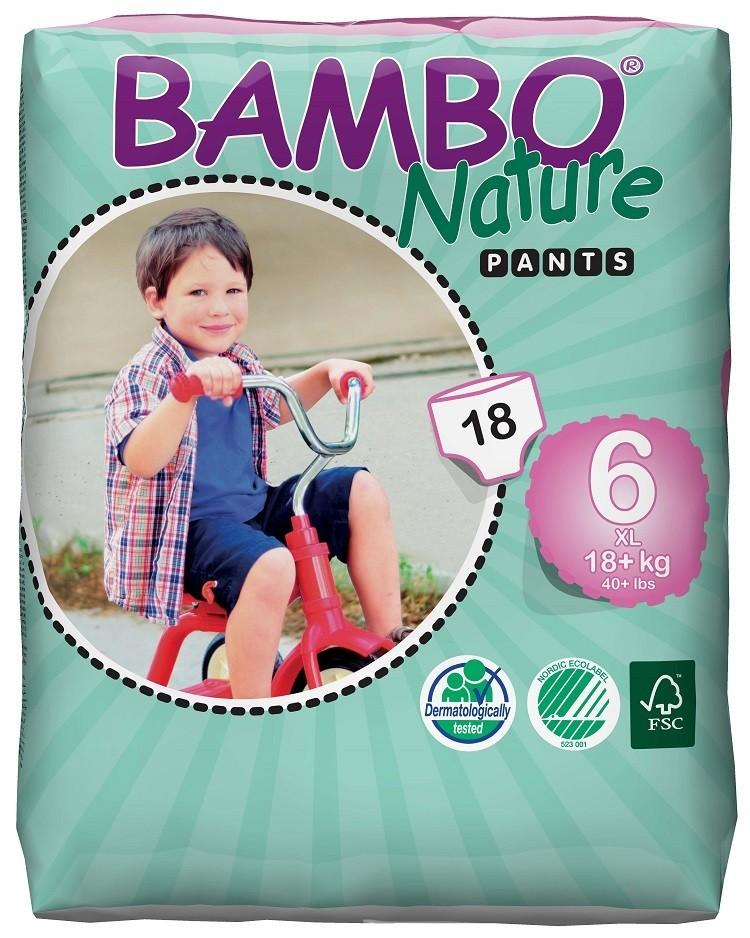Afbeelding van Bambo Nature Pants 6 (luierbroekje) pakken