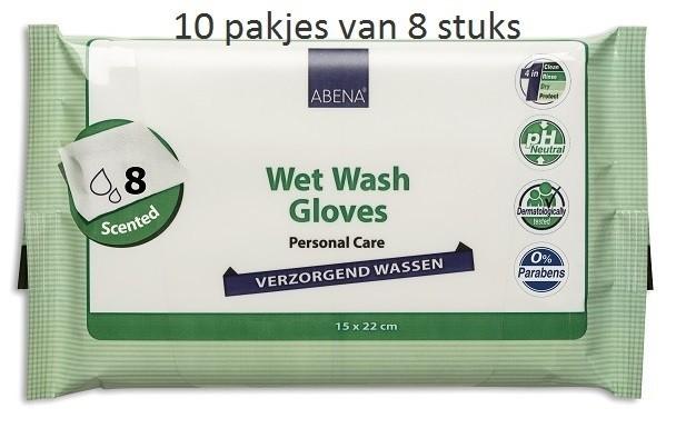 Afbeelding van Abena Verzorgend Wassen (parfum) 10 pakjes