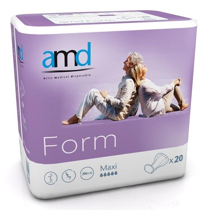 Afbeelding van AMD Form Cotton Feel Maxi 4 pakken van 20 stuks