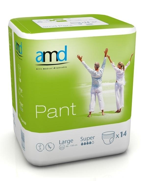 Afbeelding van AMD Pants Super Large 4 pakken van 14 stuks