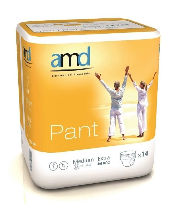 Afbeelding van AMD Pants Extra Medium 4 pakken van 14 stuks