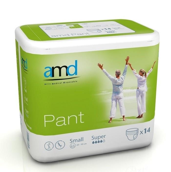 Afbeelding van AMD Pants Super Small 4 pakken van 14 stuks