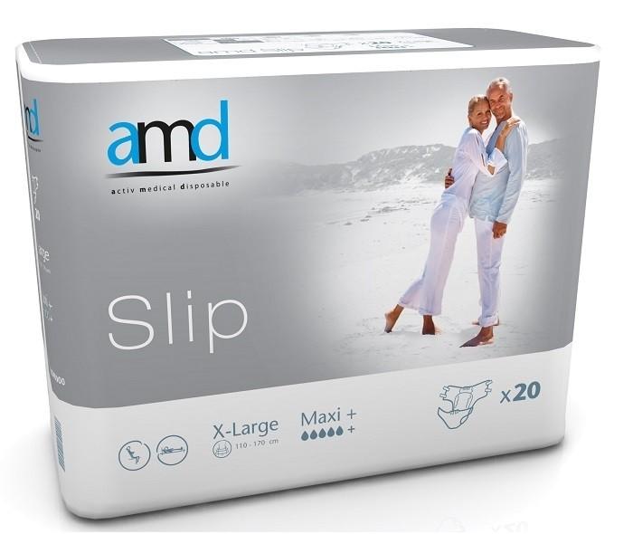 Afbeelding van AMD Slip Maxi Plus Extra Large 3 pakken van 20 stuks