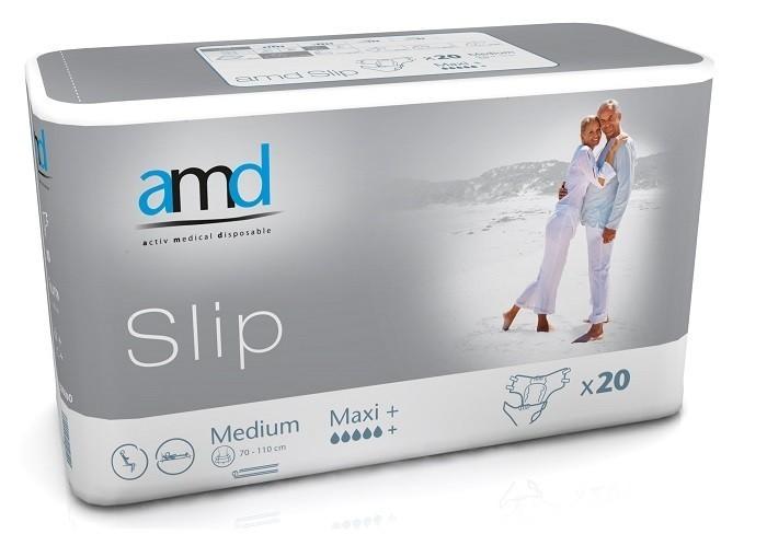 Afbeelding van AMD Slip Maxi Plus Medium 3 pakken van 20 stuks