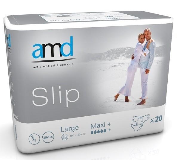 Afbeelding van AMD Slip Maxi Plus Large 3 pakken van 20 stuks