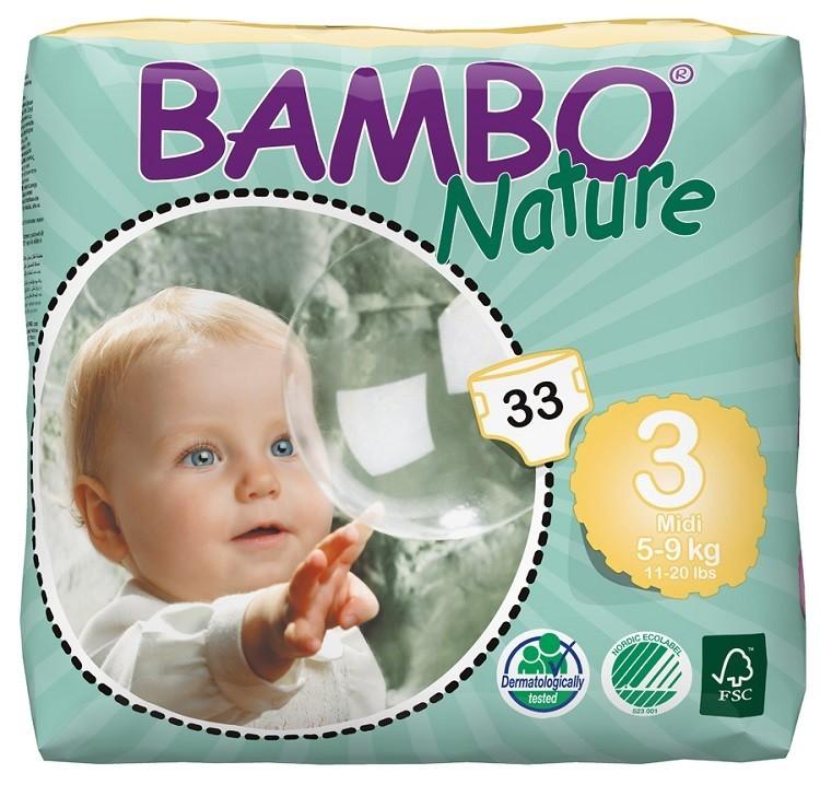 Afbeelding van Bambo Nature Midi 3 6 pakken