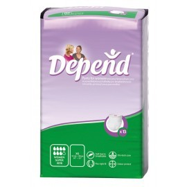 Depend Pants Vrouw Super - X-Small