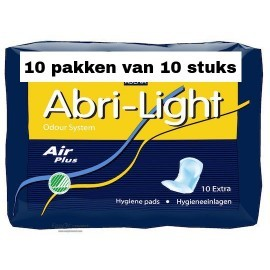 Abena Abri-Light Extra | 10 pakken van 10 stuks