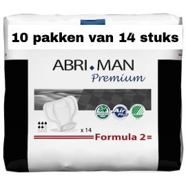 Abena Abri-Man Premium Formula 2 | 10 pakken van 14 stuks