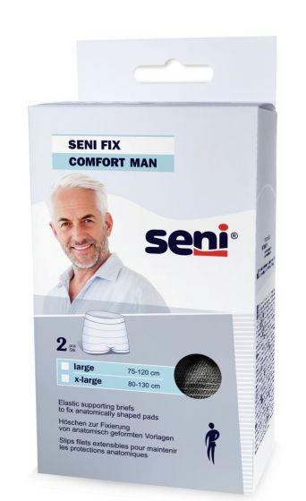 Seni Fix Extra Large voor mannen - Zwart