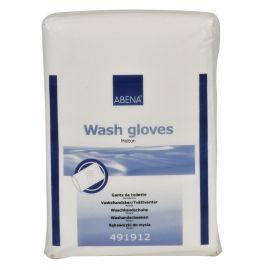 Abena Wash Gloves - Molton