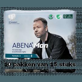 Abena Man Formula 2 | 10 pakken van 15 stuks