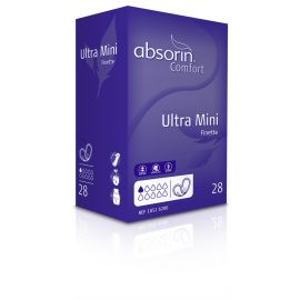 Absorin Comfort Finette Ultra Mini - 10 pakken