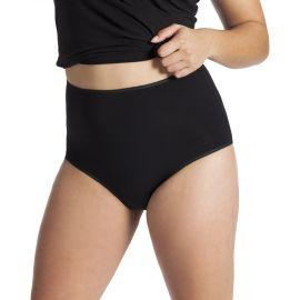 UnderWunder Dames Maxi Slip - zwart