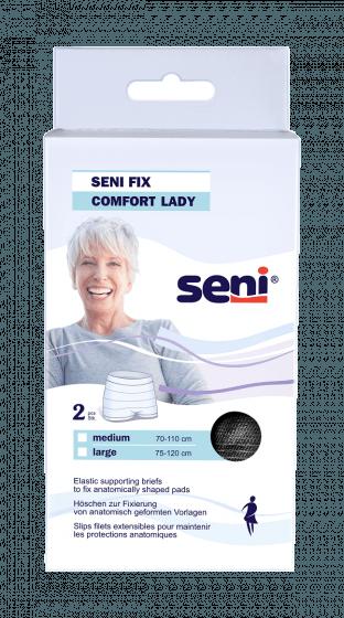 Seni Fix Large voor vrouwen - Zwart