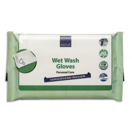 Abena Verzorgend Wassen ongeparfumeerd - 10 pakjes van 8 stuks