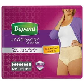 Depend Pants Vrouw Maximum - Small / Medium - 5 pakken