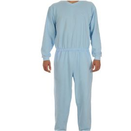 Plukpak (hansop) Heren Blauw Large - lange mouw, lange pijp