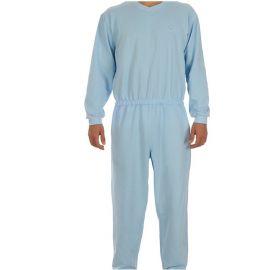 Plukpak (hansop) Heren Blauw Extra Large - lange mouw, lange pijp