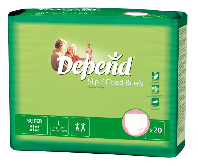 Depend Slip Super - Large