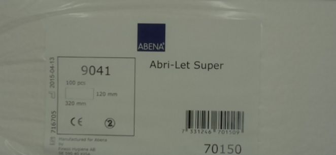 Abena Abri-Let Super Airlaid