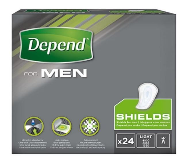 Depend For Men - Shields