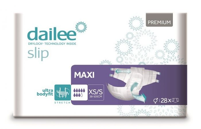 Dailee slip premium maxi XS/S