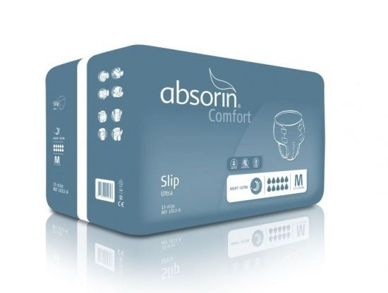 Absorin Comfort Slip Night Ultra Medium