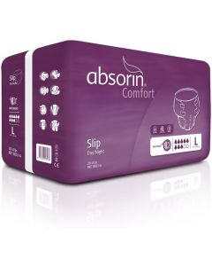 Absorin Comfort Slip Purple - D/N L