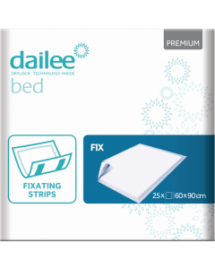 Dailee bed premium fix - 60 x 90 cm - 25 st.