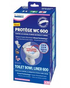 Dr. Helewa Opvangzakken voor het Toilet   20 stuks